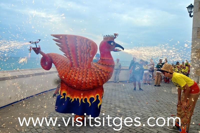 Santa Tecla, Fiesta Mayor Pequeña de Sitges
