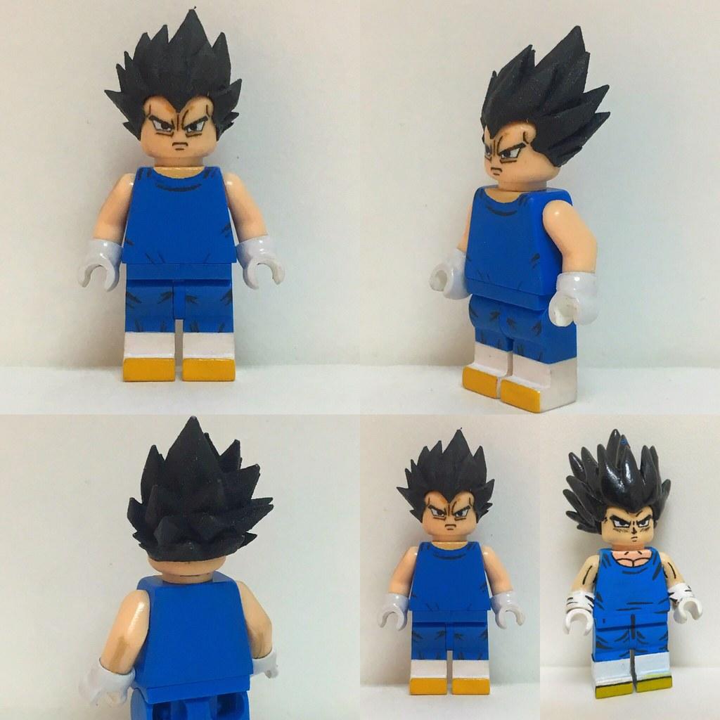 Vegeta V 2 Like Goku His Hair Is A 3d Print I Re Purpose
