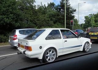 1985 Ford Escort RS Turbo | by Spottedlaurel