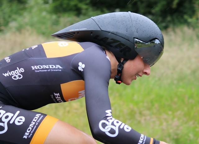 Laura Trott British Womens Time Trial Cycling Championships