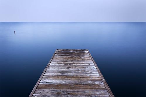 longexposure blue texture water dock humor smooth symmetry longshutter cliche overdoneshot clicheshotthateveryonetakes