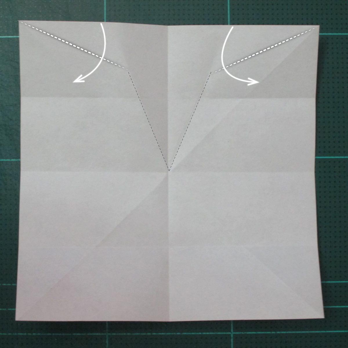 วิธีพับกระดาษเป็นที่คั่นหนังสือรูปผีเสื้อ (Origami Butterfly Bookmark) 005