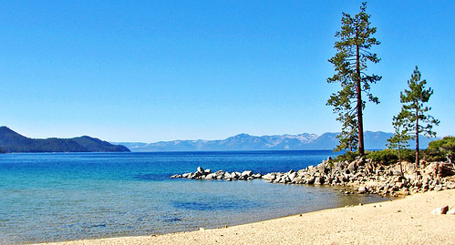 Trees over Sand Harbor, Lake Tahoe, NV 9-10a   by inkknife_2000 (10.5 million + views)