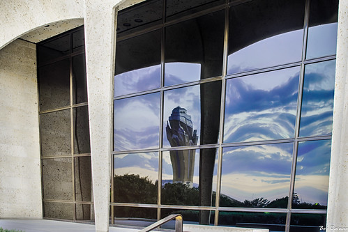 reflection sunrise willrogersmemorialcenter amoncartermuseum
