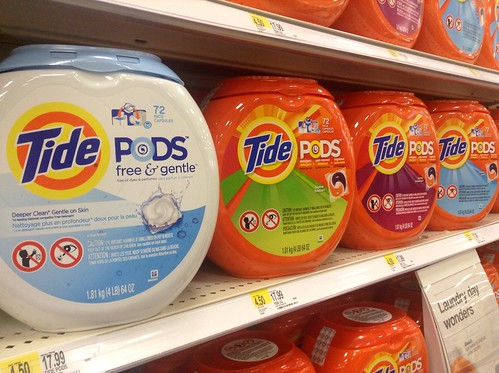 Tide Laundry Detergent Pods | by JeepersMedia
