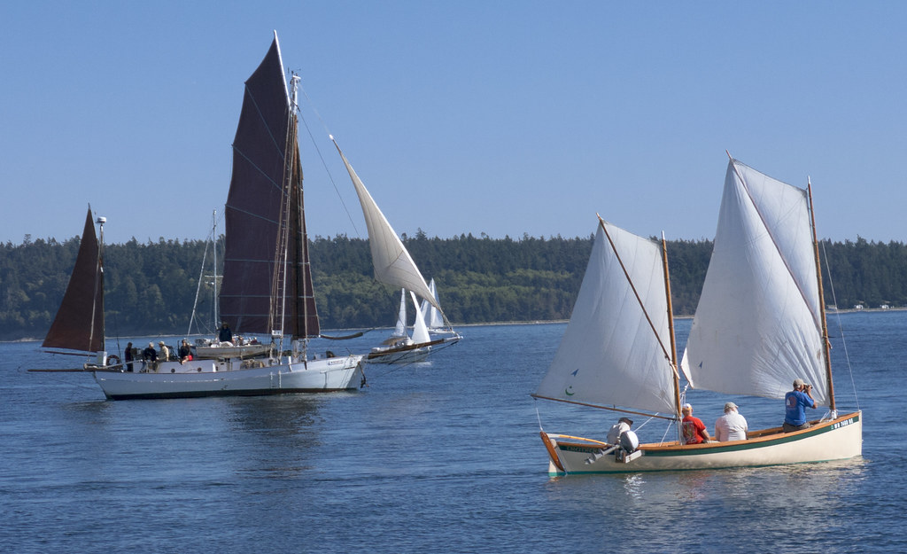 Bertie (junk-rigged yawl) and Tradition   Port Townsend's 20…   Flickr