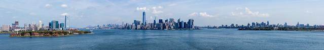 New York Habor Panorama