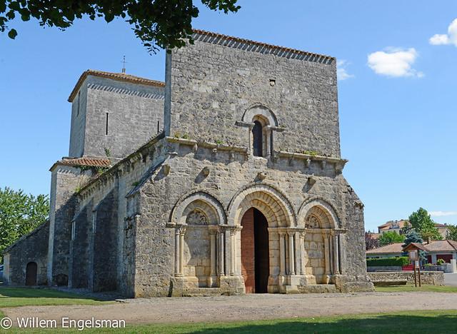 2014-07-30 La Rochette, église Saint Sebastien, Charente, Poitou Charentes _DSC8122