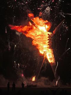 The Man Burns