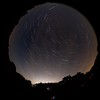 Fisheye star trail experiments. by Owen Llewellyn