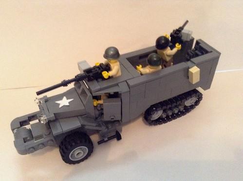 Lego ww2 American half track