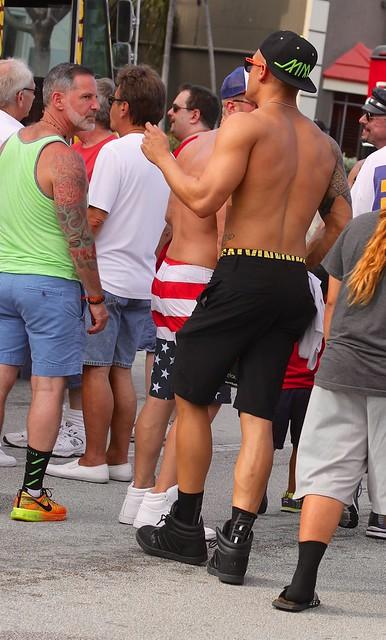 Men  at Stonewall Festival