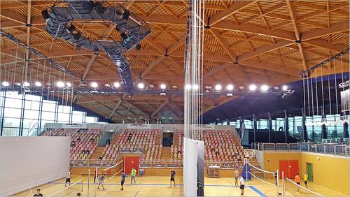 D'Coque, Hôtel et centre national sportif et culturel, plateau du Kirchberg, Luxembourg | by claude lina