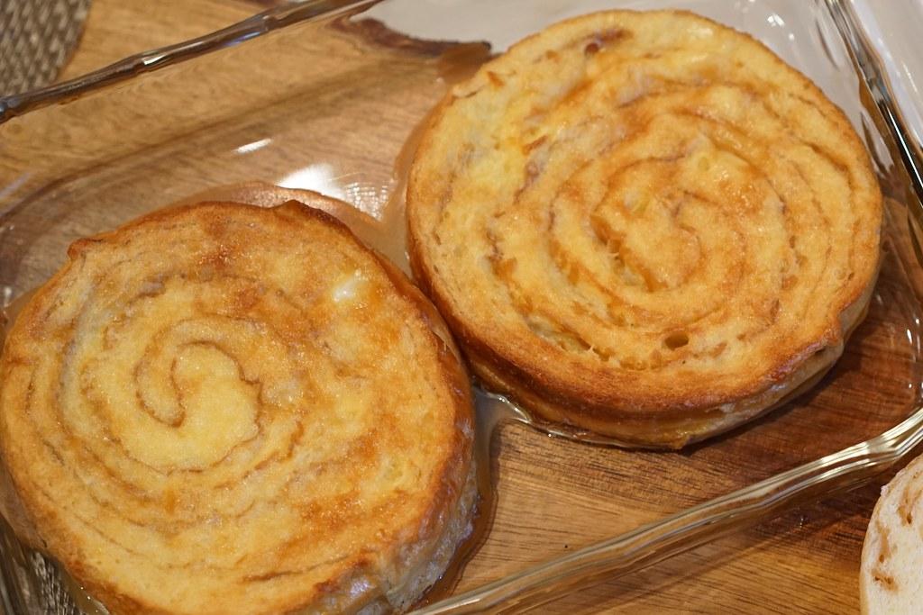 ラウンド食パン メープル5