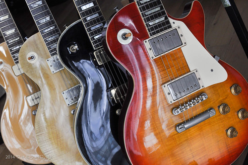 Four Tokai LS models-8.jpg | by Harold Wulf