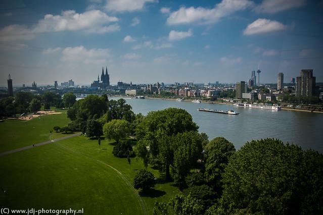 Rheinseilbahn view (+1)