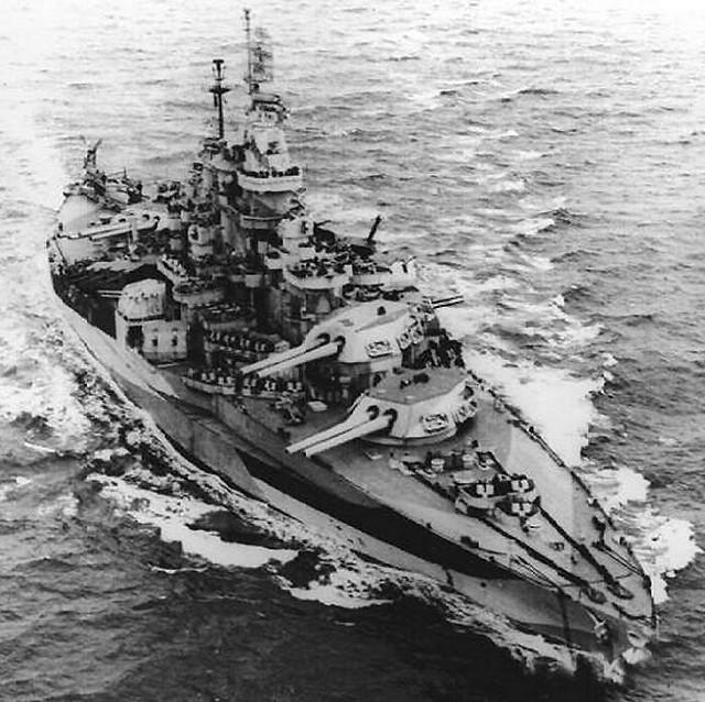 科罗拉多州级战舰USS西弗吉尼亚州