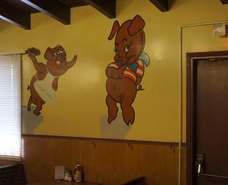 Bear Pit interior