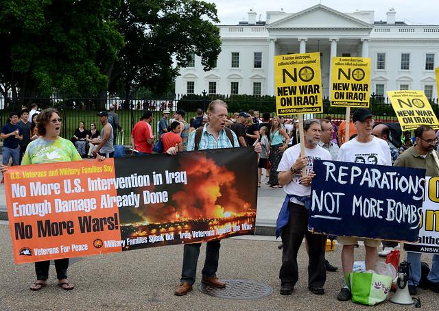 No New War On Iraq DC Rally 4 June 20, 2014