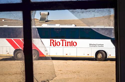 africa arandis broken bus day580 mine mining namibia riotinto rössing rössingmine uranium window freewheelycom jbcyclingafrica