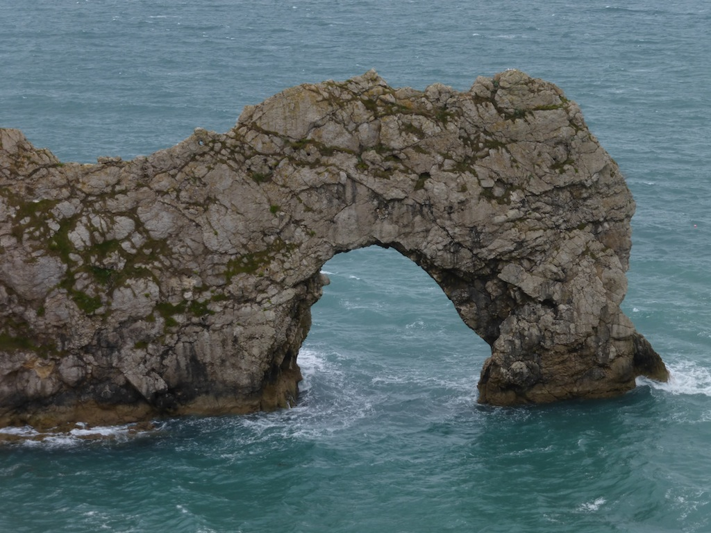 Durdle Door - the arch not swimmed