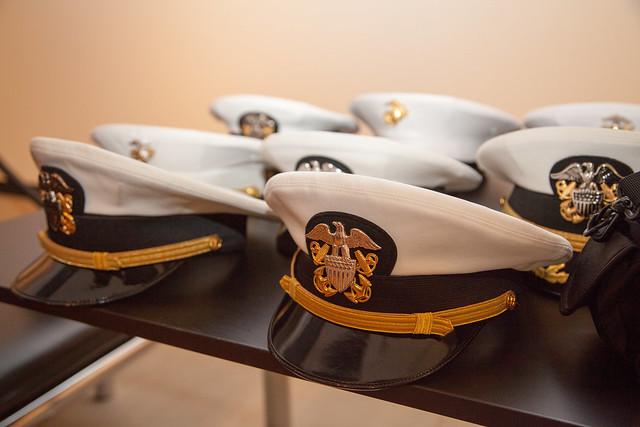 Navy Commissioning Ceremony
