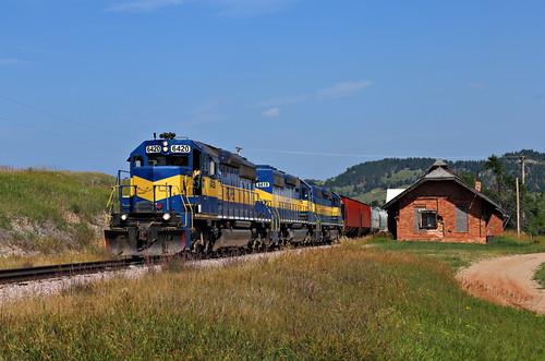 blackhills train locomotive bentonite 6436 whitewood stonge 6418 6420 rcpe