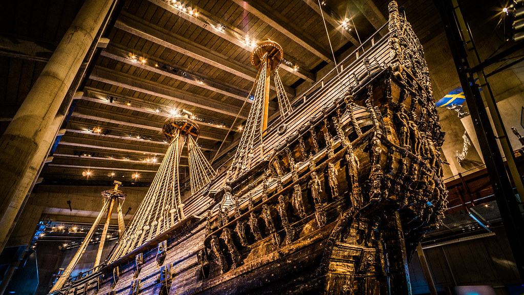 Ship in the Vasa Museum