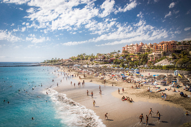 Playa del duque, Tenerife
