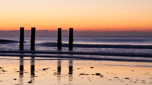 ocean vacation beach sunrise newjersey unitedstates jetty nj stoneharbor jerseyshore
