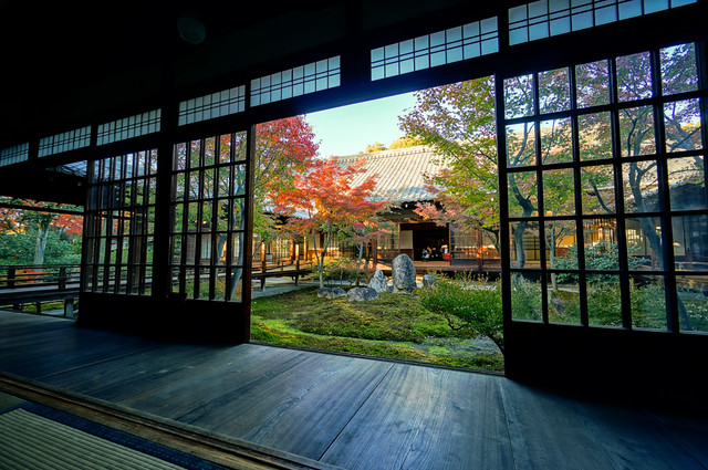 Kennin-ji Temple (建仁寺) in Autumn in Kyoto (京都) Japan