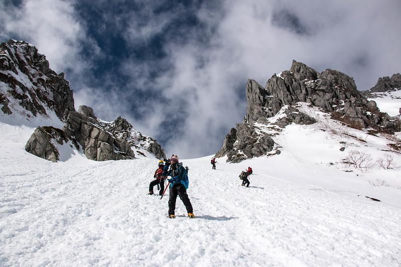 木曽駒ヶ岳の下山