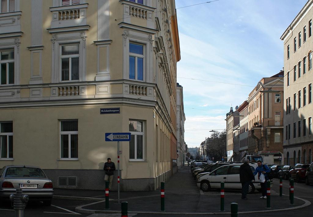 Street corner in Vienna-Favoriten