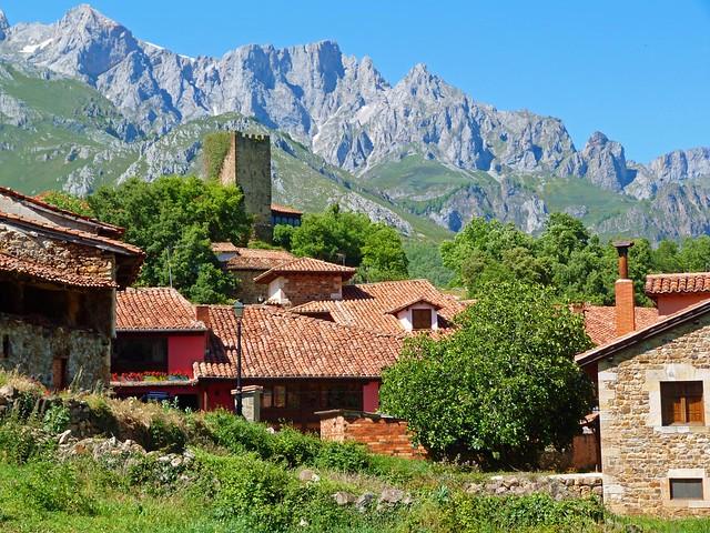Pueblo del Valle de Liébana (Cantabria)