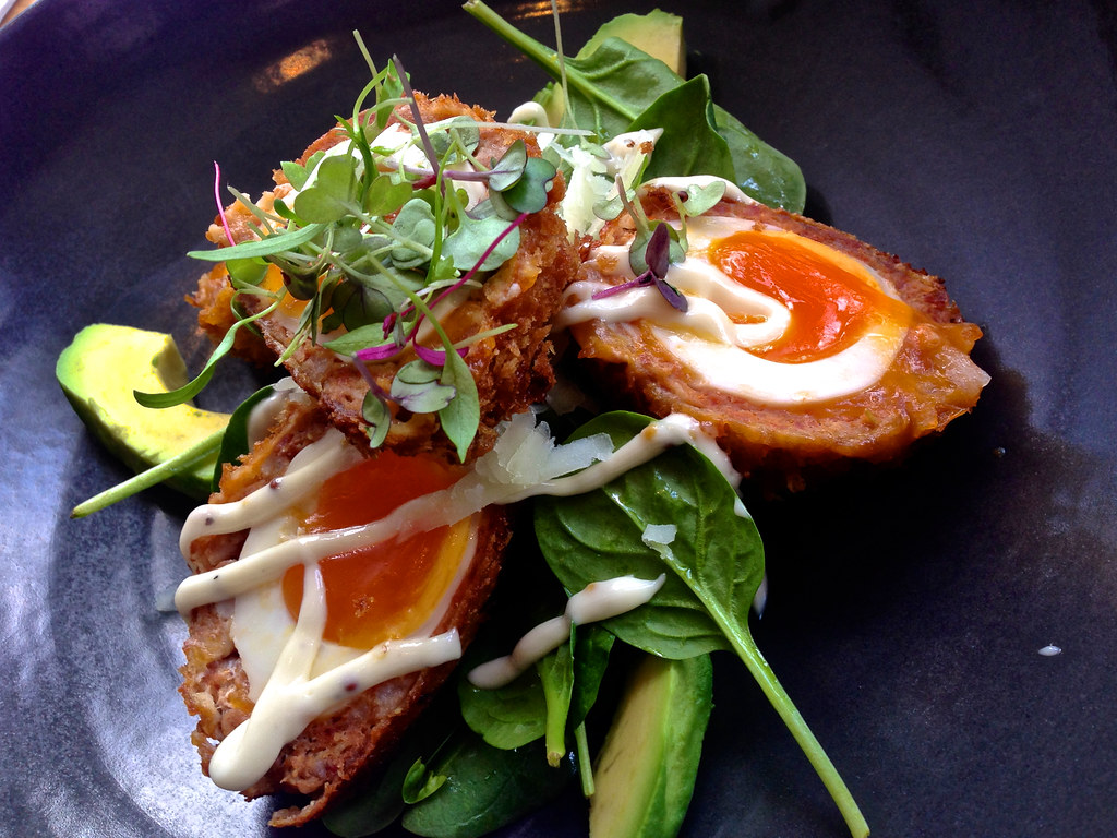 Image result for Spinach Scotch Eggs