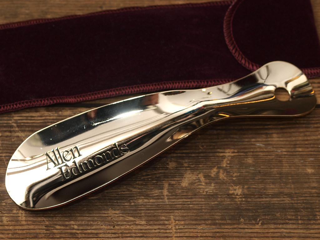 e3cc4f1e47892 ... Allen Edmonds   Brass Plated Shoehorn