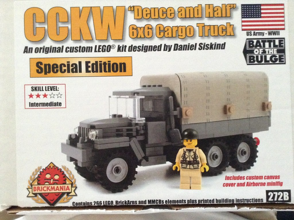 My first Brickmania Kit  Very cool One of my favorite wwii… | Flickr