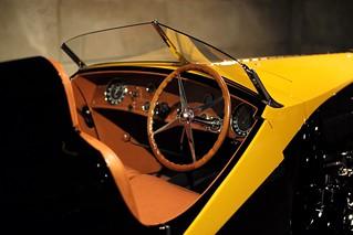 Bugatti Grand Raid Cockpit