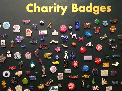 Charity Badges at IoF Convention 2014 | by HowardLake