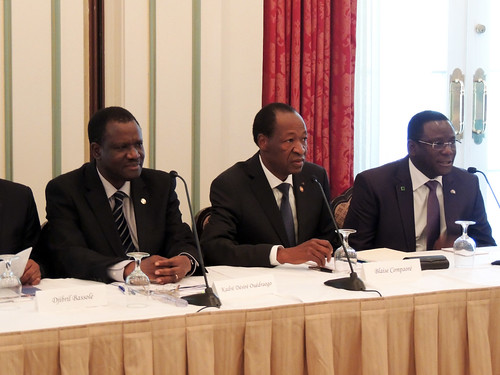 Discussion with the President of Burkina Faso and the ECOWAS Commission President