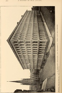 """Image from page 469 of """"A history of real estate, building and architecture in New York City during the last quarter of a century"""" (1898) 
