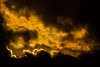 Sunset colours. by Owen Llewellyn