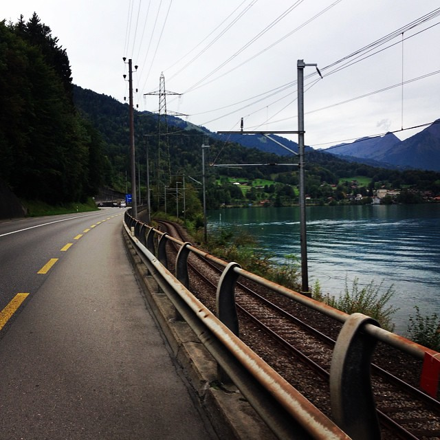 #bike #switzerland #lake #thun #interlaken #trip #bicycletouring #idylic #poetic #astonishing