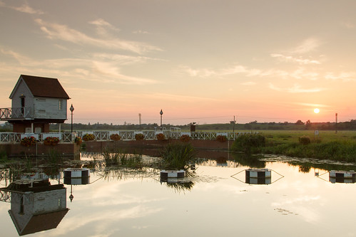 Sunset @ Tewkesbury Mill | by Robert Burton Photography