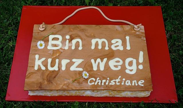 Schweizer Rüblitorte