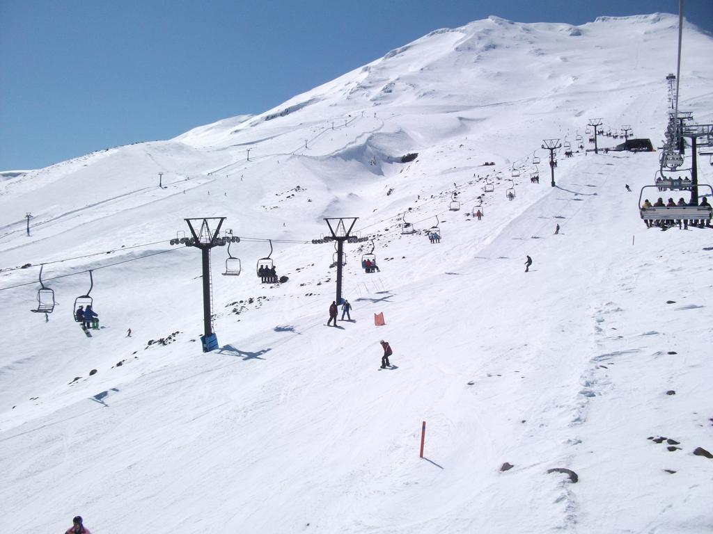 winter in new zealand - ruapehu