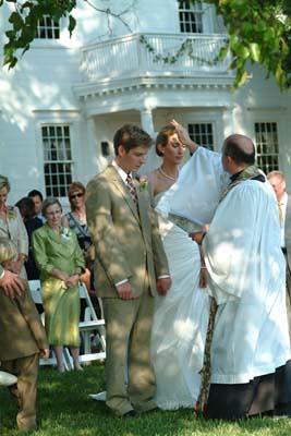 Marriage Ceremony, Woodlawn Farm, Ridge, MD
