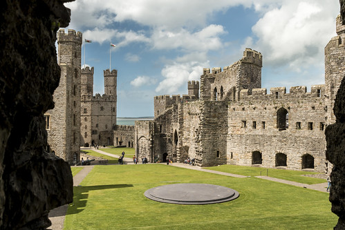 Caernarfon Castle | by barryskeates