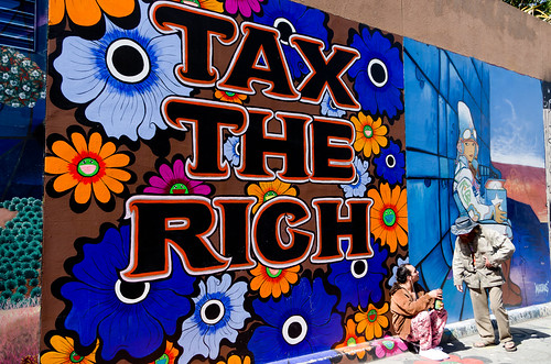 Tax The Rich | by Romain - Lyon