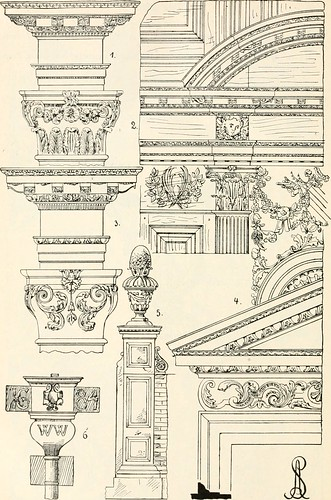 "Image from page 497 of ""Styles of ornament, exhibited in designs, and arranged in historical order, with descriptive text. A handbook for architects, designers, painters, sculptors, wood-carvers, chasers, modellers, cabinet-makers and artistic locksmiths 